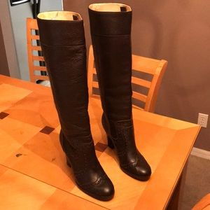 MICHAEL Michael Kors  Leather Boots Womens Size 8M